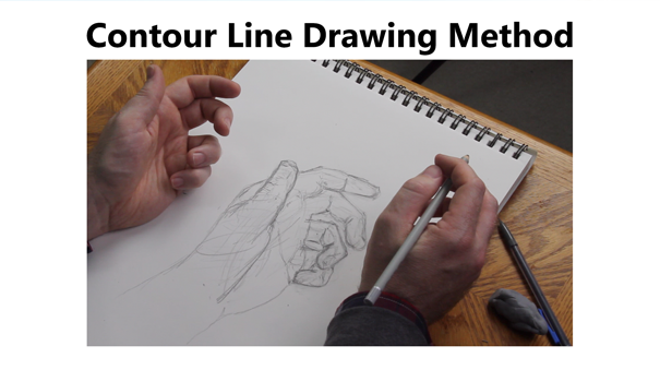 Contour Line Drawing Method